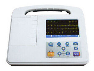 3 Channel ECG Monitoring System With 5 Inch Color Display Screen 800*480 Resolution