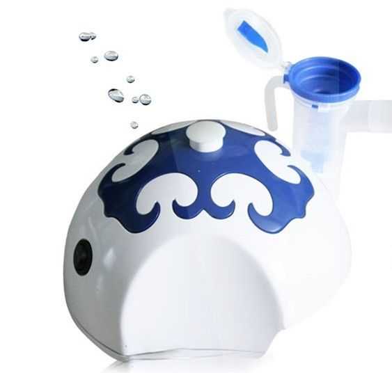 Portable Oxygen Concentrator Humidifier , Yurt Shape Cartoon Nebulizer