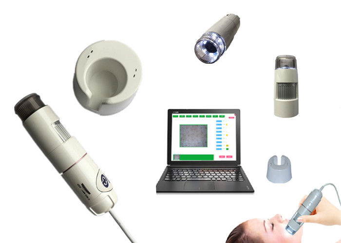 Skin Hair Testing Machine Facial Analyzer Scanner Moisture Analyser For Home And Beauty Salon