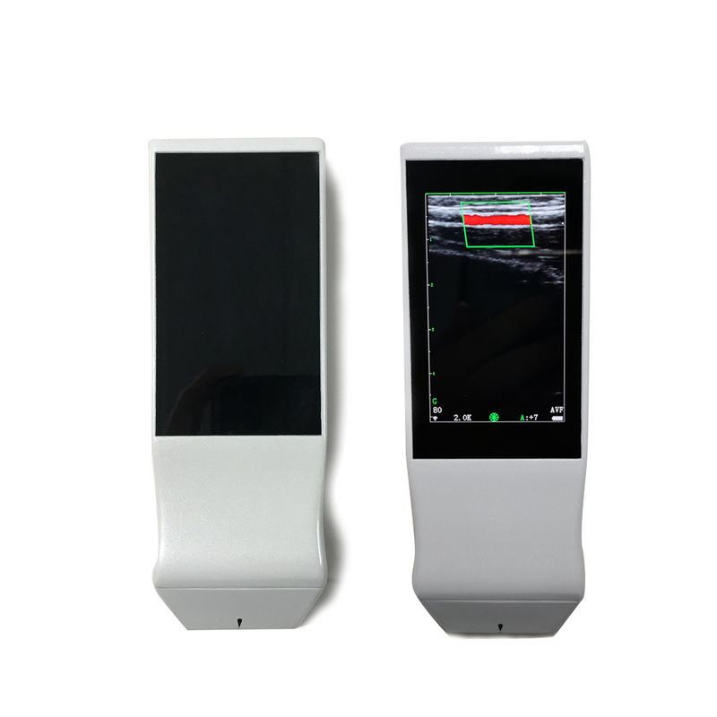 Handheld Color Doppler Machine , Portable Ultrasound Machine With 7MHz ~10MHz Frequency