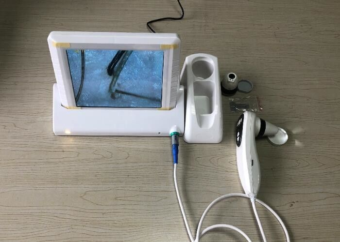 Facial Skin Analysis Equipment Built - In LED Light Source 4 Or 9 Images Displaying