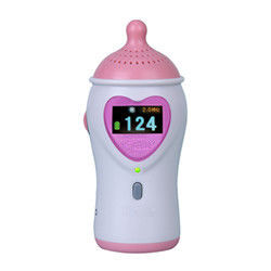 9V Alkaline Battery Fetal Heart Rate Doppler With Color LCD Display Earphone And Speaker