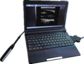 Escáner de ultrasonido veterinario