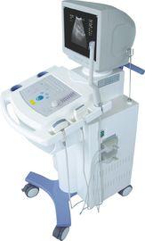 Carro económico B del analizador del ultrasonido de la carretilla de Digitaces/analizador del ultrasonido de W con 2 conectores de la punta de prueba monitor de la CRT de 14 pulgadas