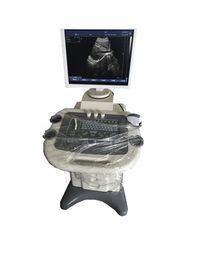 Analizador del ultrasonido de la carretilla de la pantalla del Lcd de 17 pulgadas con la punta de prueba convexa de 3.5mhz R60