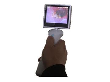 Cámara ENT del otoscopio video de 3,5 de la pulgada Digitaces de la pantalla LCD para la garganta de la nariz del oído con la batería de litio