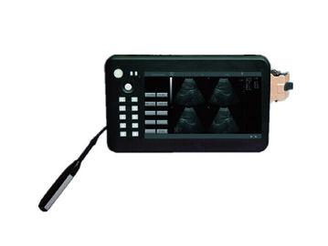 Ultrasonido animal dispositivo blanco y negro del ultrasonido del PDA de 7 pulgadas con el uso veterinario 0.7kg del batería li-ion solamente
